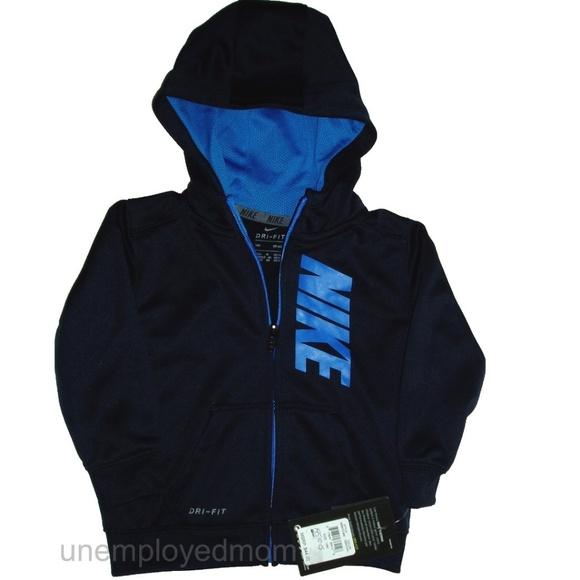 d72767eaa3a9 Nike Zip Up Hoodie Jacket Boys 18 Months Coat